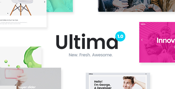Ultima – A Multi-Purpose WordPress Theme