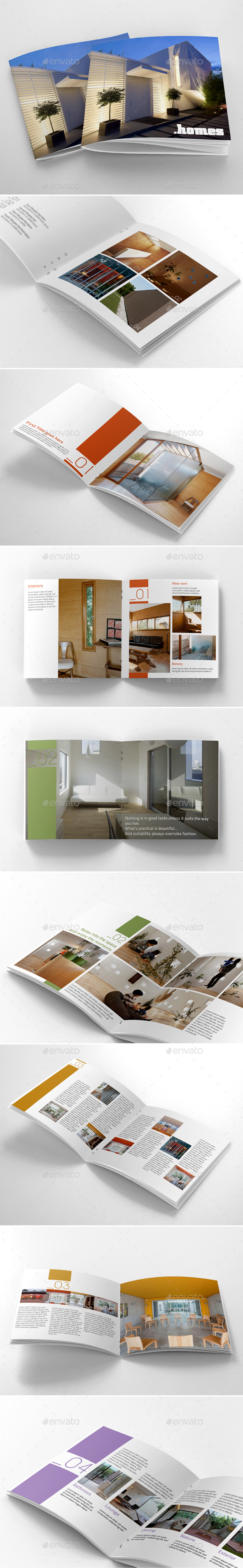 Square Catalogue Portfolio - Corporate Brochures