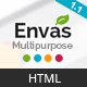 Envas - Multipurpose HTML5 Template - ThemeForest Item for Sale