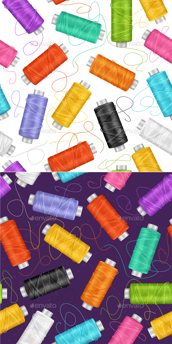 Sewing Background. Vector - Backgrounds Decorative