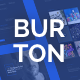 Burton – One Page Resume & CV Template - ThemeForest Item for Sale