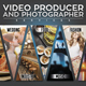 Video Producer and Photographer Flyer/Poster - GraphicRiver Item for Sale