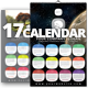 2017 Wall n Desk Calendar Template - GraphicRiver Item for Sale