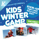 Kids Winter Camp Flyer Templates - GraphicRiver Item for Sale
