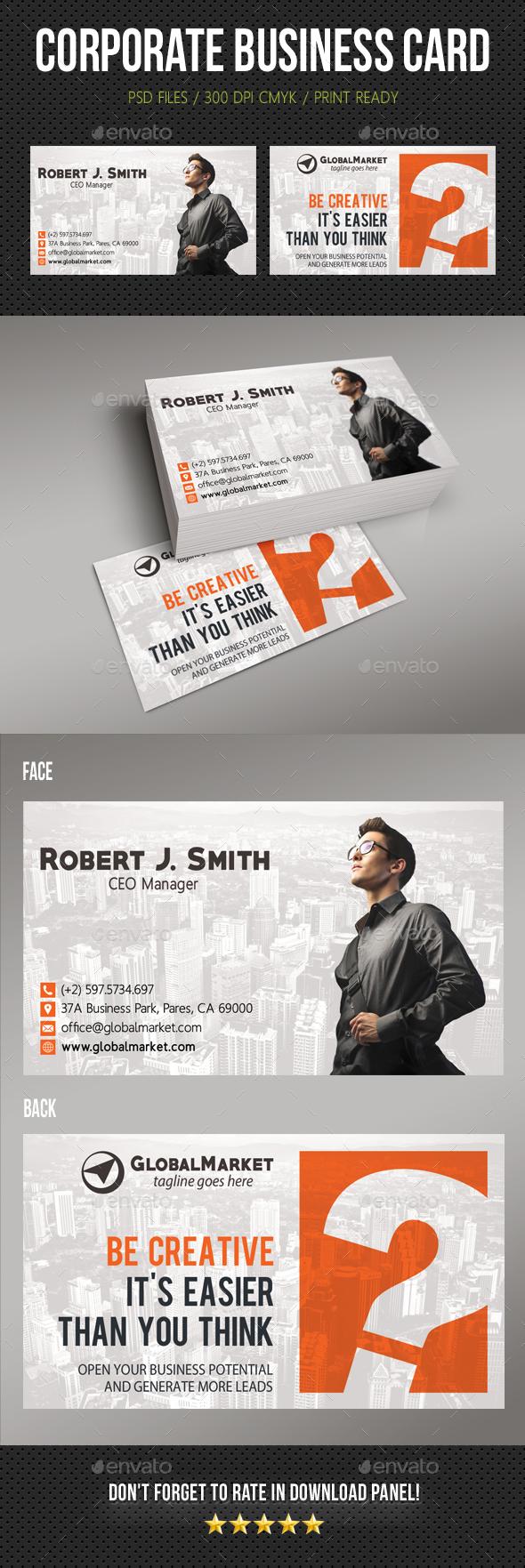 Corporate Business Card 19 - Corporate Business Cards
