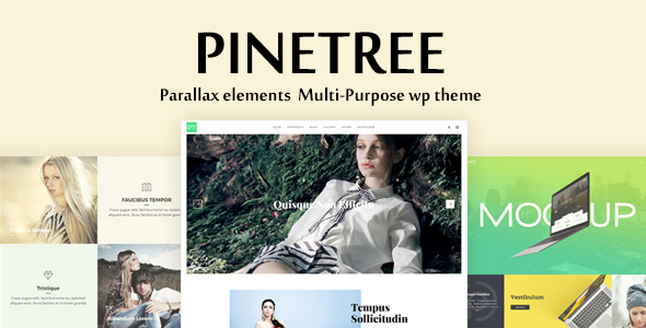 Pinetree – Multi-Purpose Responsive WordPress Theme