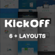 KickOff - Responsive Startup Landing Pages - ThemeForest Item for Sale
