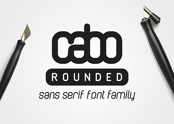 Cabo Rounded Font Family - Sans-Serif Fonts