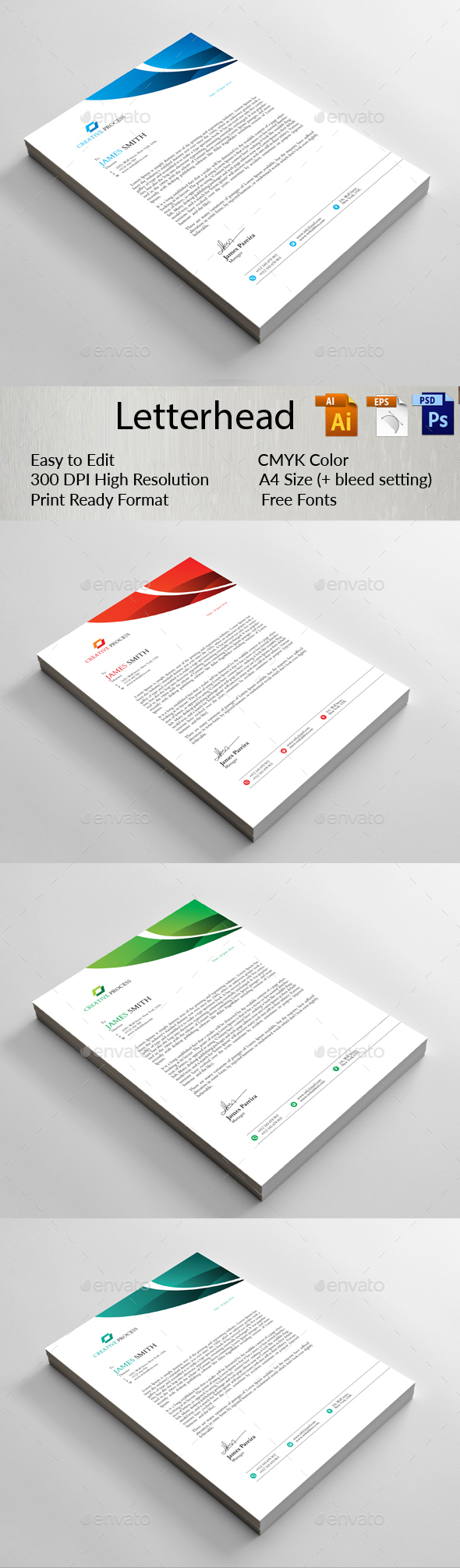 letterhead - Certificates Stationery