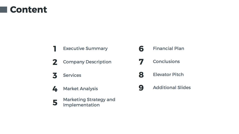 Business Plan Keynote Presentation Template By Jetz GraphicRiver - Market analysis template business plan