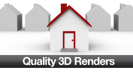 Quality 3D Renders