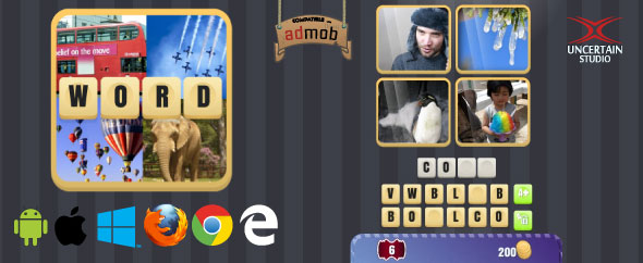 4 Pics 1 Word - Word Game - CodeCanyon Item for Sale