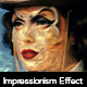 Impressionist Paint Effect - GraphicRiver Item for Sale
