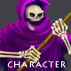 Grim Reaper - Character Sprite - GraphicRiver Item for Sale