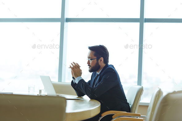 Serious work - Stock Photo - Images