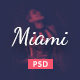 Miami - Stylish NightClub PSD Template