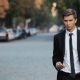 Young Businessman With a Phone In His Hand. - VideoHive Item for Sale