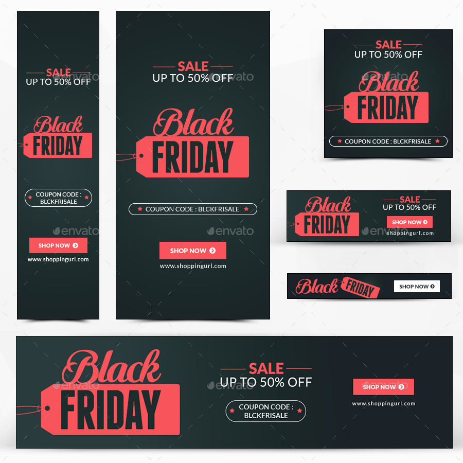 Alien Bees Black Friday Sale: Black Friday Sale Banners By Hyov