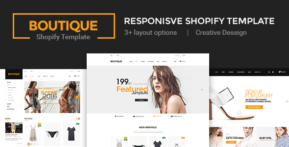 Boutique – Multi Store Responsive Shopify Theme