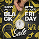 Black Friday / Sale flyer Template - GraphicRiver Item for Sale