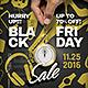 Black Friday / Sale flyer Template - GraphicRiver Item for Sale