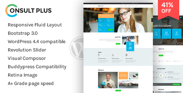 Consultancy  - Corporate Business WordPress Theme - Business Corporate