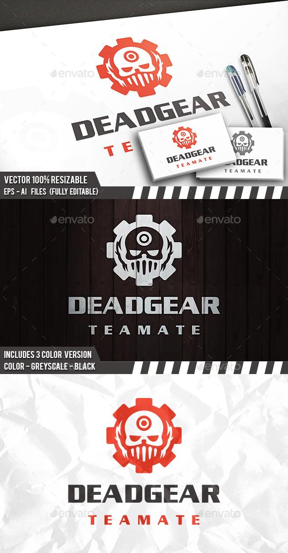 Dead Gear Logo - Humans Logo Templates