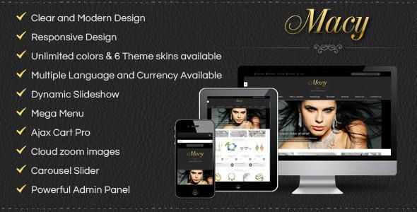 SM Macy - Responsive Magento Theme - Fashion Magento
