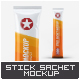 Stick Sachet Mock-Up - GraphicRiver Item for Sale