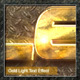 Gold Light text Effect - GraphicRiver Item for Sale