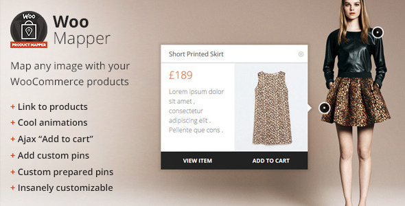 WooMapper - WordPress Plugin, Display WooCommerce Products, Add Pins To Images, Shop With Style nulled free download