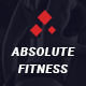 Absolute Fitness - PSD Template Nulled