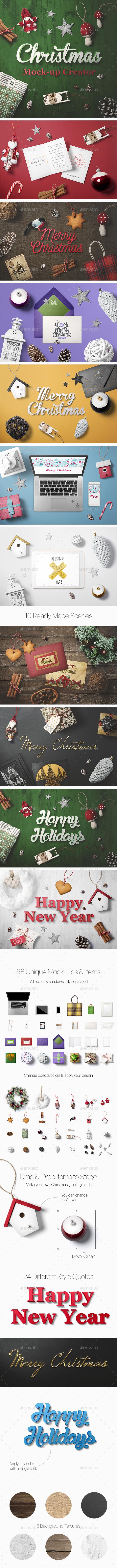 Christmas Mock-Up Creator - Miscellaneous Print