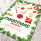 Christmas Holiday Flyer V4 - GraphicRiver Item for Sale
