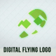 Digital Flying Logo - VideoHive Item for Sale
