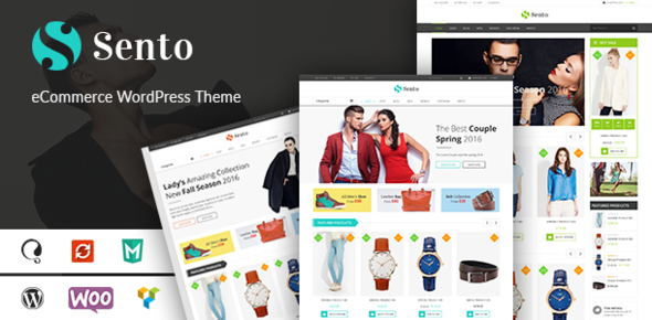VG Sento – eCommerce WordPress Theme for Fashion Store