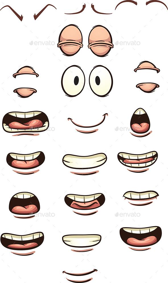 Cartoon Mouths - Miscellaneous Conceptual