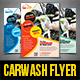 Car Wash Flyer Templates - GraphicRiver Item for Sale