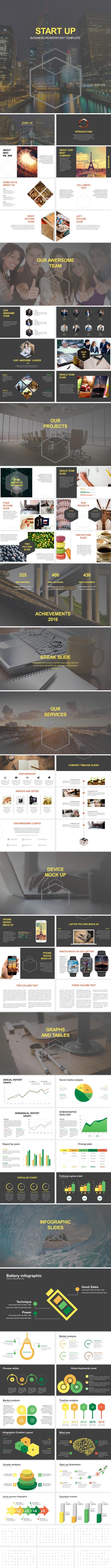 Start Up Business Powerpoint Template - Business PowerPoint Templates