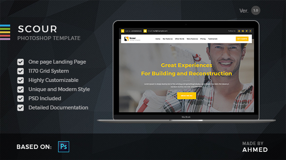 Scour Construction - PSD Template