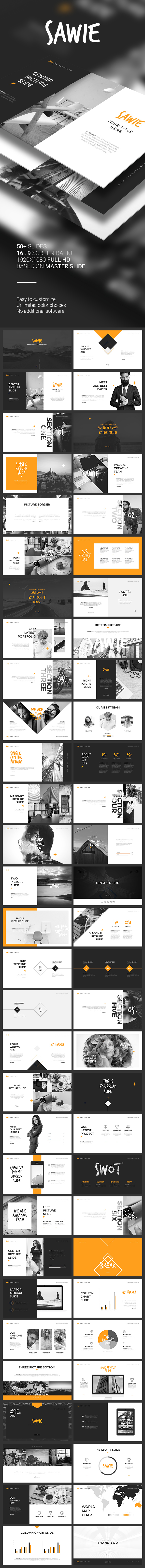 SAWIE PowerPoint Template - PowerPoint Templates Presentation Templates