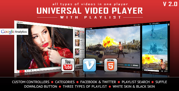 HTML5 Video Player with Playlist & Multiple Skins Free Download #1 free download HTML5 Video Player with Playlist & Multiple Skins Free Download #1 nulled HTML5 Video Player with Playlist & Multiple Skins Free Download #1