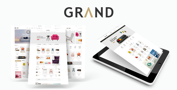 Grand – Responsive Furniture Magento Theme