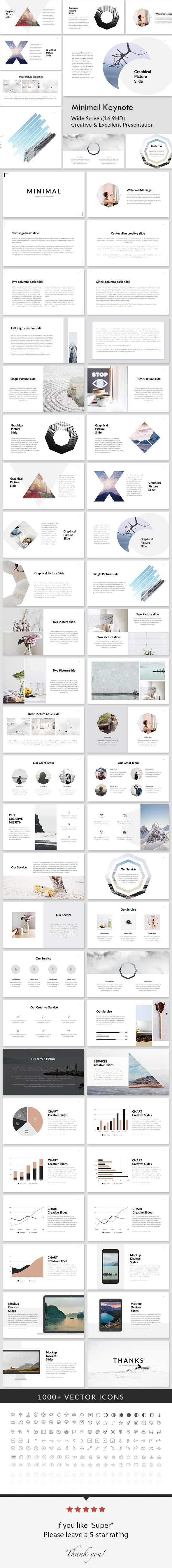 Minimal - Creative Keynote Presentation - Creative Keynote Templates