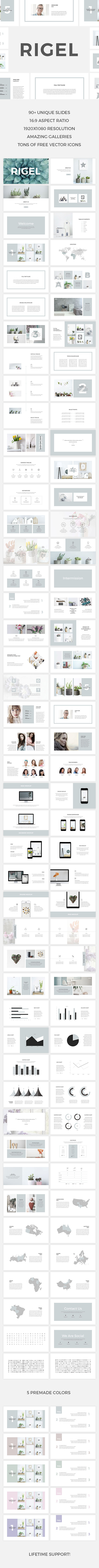 Rigel PowerPoint Template - PowerPoint Templates Presentation Templates