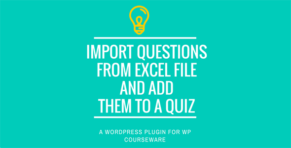 WP Courseware Excel Import Addon - CodeCanyon Item for Sale