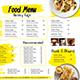 Modern Food Menu - GraphicRiver Item for Sale