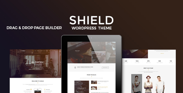 Shield – A Creative Responsive Multi-Concept WordPress Theme