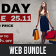 4 Black Friday FB Cover and Sliders  Bundle - GraphicRiver Item for Sale