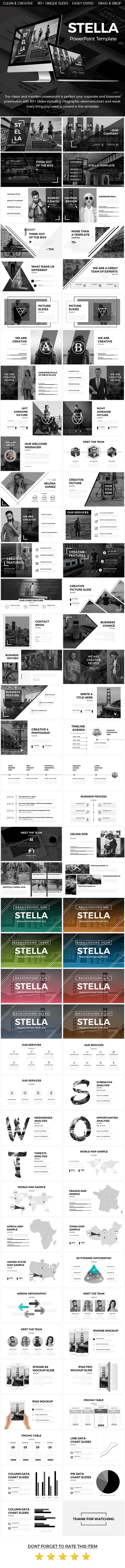 Stella - Creative Powerpoint Template - Creative PowerPoint Templates